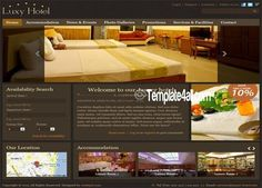 Free Drupal Themes - Luxe Hotel Drupal Template #drupal #hotel #drupalthemes