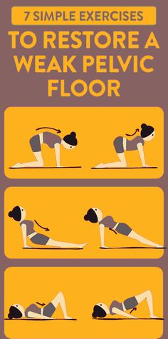 Add these strengthening pelvic floor exercises to your workout routine to improve your sex life and reduce your risk of incontinence. The pelvic floor is often overlooked, but they're an important set of muscles to exercise! Wellness Fitness, Fitness Diet, Health And Wellness, Health Fitness, Fitness Motivation, Floor Workouts, Easy Workouts, Makeup Tricks, Health And Beauty Tips