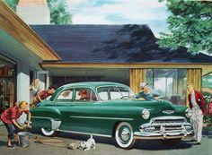 1952 Chevrolet Suburban Car Wash
