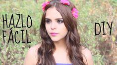 CORONA DE FLORES INCREIBLE (DIY)♥ -Yuya