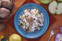 Ricetta Insalata di aringa affumicata - Le Ricette di GialloZafferano.it