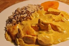 Hähnchen – Pfirsich – Curry Chicken – peach – curry, a popular recipe from the category poultry. Vegtable Soup Recipes, Instapot Soup Recipes, Whole30 Soup Recipes, Quick Soup Recipes, Cabbage Soup Recipes, Ministroni Soup Recipe, Tum Yum Soup, Butternut Squash Soup Creamy, Food Recipes