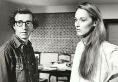 Woody Allen and Meryl Streep #cinema