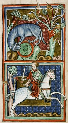 Tiger from a medieval bestiary