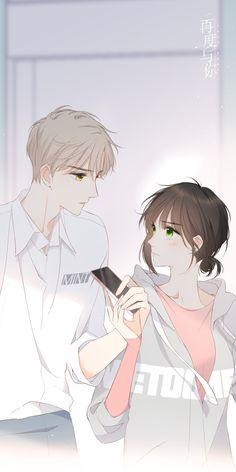 Emo Anime Girl, Anime Cupples, Pretty Anime Girl, Hot Anime Boy, Anime Couples Manga, Anime Angel, Kawaii Anime, Anime Art, Manhwa