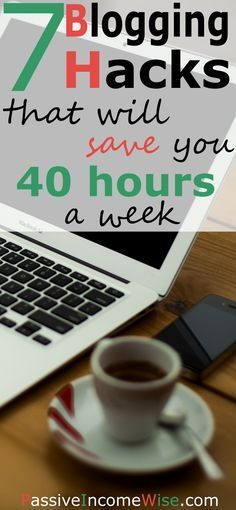 During my 2 years of blogging, I've come with a list of blogging hacks which saved my up to 40 hours a week. They also helped me to make more money every month.