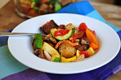 Grilled Vegetable Panzanella - this sounds so good!