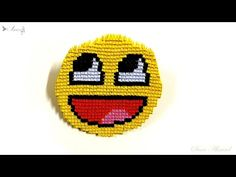 How to make 3d origami emoji - face 2 - YouTube