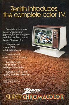 1972 Zenith Super Chromacolor
