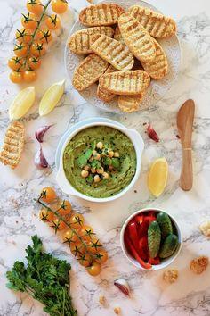 Hummus z bobu Tahini, Nachos, Palak Paneer, Hummus, Nutella, Feta, Cooking Recipes, Ethnic Recipes, Blog
