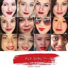 LipSense Color Collage: Fly Girl LipSense // SeneGence independent distributor #237343