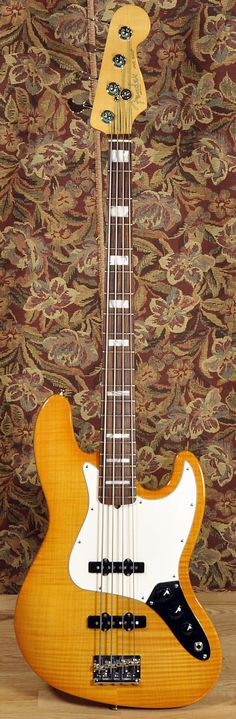 FENDER American Select Jazz Bass Amber 2012 | Chicago Music Exchange