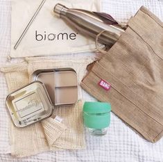Zero waste kit. All reusable products available at Biome Eco Stores. Photo by @justtarn on Instagram