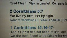 2 Corinthians 5:7  49ers Faithful