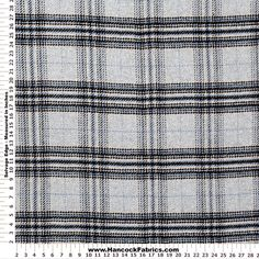 Shop Plaid Light Blue and Grey Wool Fabric, and more of our Wool. Shop our huge selection of thread and fabric, enjoy savings with sales and coupons!
