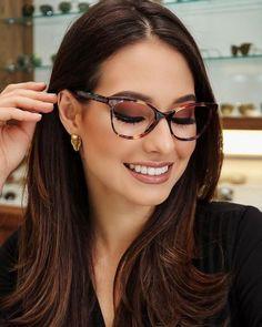 7 Makeup Tips For Eyewear - Makeup tips for glasses wearers. Make of glasses. - 7 Makeup Tips For Eyewear – Makeup tips for glasses wearers. Make of glasses. Glasses For Face Shape, Nice Glasses, Girls With Glasses, Cheap Eyeglasses, Eyeglasses For Women, Sunglasses Women, Glasses Outfit, Fashion Eye Glasses, Glasses Frames Trendy