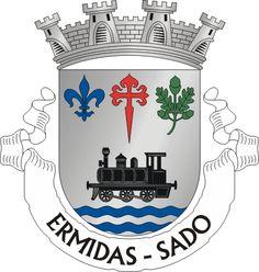 Brasão de armas de Ermidas-Sado