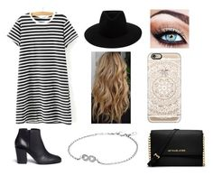 """""""Simple but Cute, RTD Please!"""" by ll1021 ❤ liked on Polyvore featuring WithChic, rag & bone, Giuseppe Zanotti, Casetify, MICHAEL Michael Kors and Pandora"""