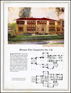 https://flic.kr/p/JkijoE | Morgan House Plan Suggestions::Building with Assurance | Building with Assurance - 1923 www.antiquehome.org