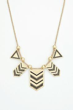 Native arrow necklace