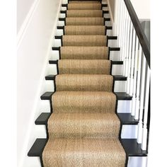 Carpet Installation Is Important To Make Stairs Safer Carpet Staircase, Staircase Runner, Staircase Remodel, Staircase Makeover, Sisal Stair Runner, Carpet Runners For Stairs, Best Carpet For Stairs, Carpet Stair Treads, Stair Rugs