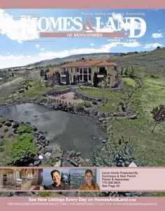 View the latest issue online of Homes & Land of Reno/Sparks #homesandlandmagazine #realestate #homesforsale