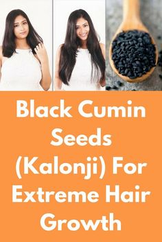 These seeds are secret behind her hair growth We all have these little seeds in our house, they are knows as either black cumin seeds or kalonji seeds. These are small and bitter-flavoured seeds. Very few people know that these seeds is a ram ban remedy t Kalonji Seeds, Excessive Hair Fall, Extreme Hair Growth, Hair Remedies For Growth, Beauty Care, Beauty Tips, Beauty Hacks, Beauty Stuff, Hair