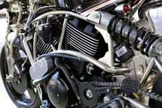 """Awesome! Harley-Davidson Street 750 Cafe Racer """"XG750TURBO"""" by Cherry's Company #motorcycles #caferacer #harley 