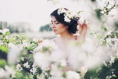 Boudoir Session in an Apple Orchard