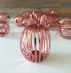 COUPON Mid Century Christmas Ornaments PINK Danish by OscarBond