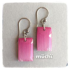 63 Polymer clay earrings fimo