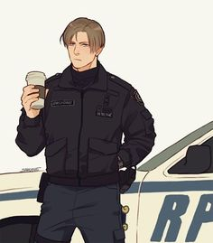Leon S Kennedy, Resident Evil Collection, Resident Evil Anime, Albert Wesker, Dino Crisis, The Evil Within, How To Make Comics, Character Design, Fan Art