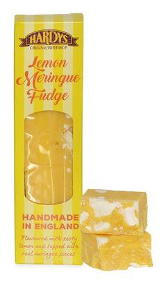 Hardys Original Lemon Meringue Fudge Retro Sweets, Confectionery, Fudge, Peppermint, Snack Recipes, Lemon, British, Traditional, Chocolate