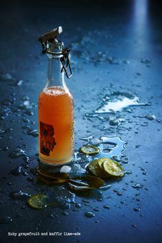 Ruby grapefruit and kaffir lime-ade - The Food Dept
