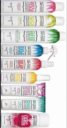 """""""Not your Mothers"""" hair products...LOVE this brand!! Smells amazing too!!"""
