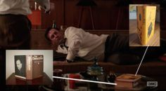 """The Detective, by Roderick Thorp, and Shadow of a Bull, by Maia Wojciechowska in Mad Men Season 7 Episode 4, """"The Monolith"""" http://www.nypl.org/blog/2012/02/27/mad-men-reading-list"""
