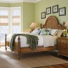 Tommy Bahama Home Beach House Belle Isle Panel Bed | Wayfair