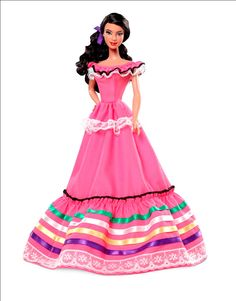 "Colección ""Barbie Dolls of the World"": Barbie México."