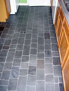 #cobblestone #kitchen #flooring