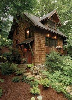 Cabin crush- Shady Shingled Cottage