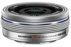 Amazon.com : Olympus 14-42mm f3.5-5.6 EZ Interchangeable Lens for Olympus/Panasonic Micro 4/3 Digital Camera (Silver) : Camera & Photo #affiliate