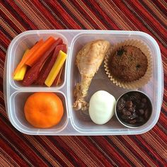 Protein packed lunch! | packed with @easylunchboxes containers