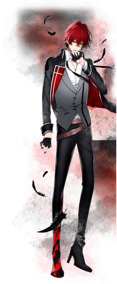 Izaya【THANATOS NiGHT Re:Vival】 Cool Anime Guys, Hot Anime Boy, Hot Anime Games, Manga Anime, Anime Art, Monster Strike, Anime Prince, Rejet, Boy Character