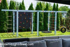 Backyard Gym, Backyard Playhouse, Backyard For Kids, Backyard Projects, Outdoor Projects, Backyard Landscaping, Outdoor Play Spaces, Kids Outdoor Play, Backyard Playground