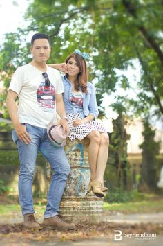 rizka & raka | prewedding photoshoot
