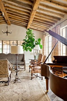 Traditional Dining Beams Design Ideas, Pictures, Remodel, and Decor - page 2