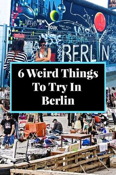 You must add these 6 weird things to try in Berlin to your Germany itinerary! #berlin #germany #germanytravel #europe #travelawaitsnow | travelawaits.com