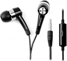 Spedia EHS44ASSBECINU Stereo Dynamic Handsfree Headphones (Black) for Rs. 299 only