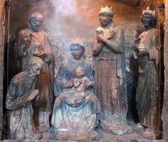 Andrea della Robbia (attr.) - Adorazione dei Magi - Cappella dell'Addolorata - Duomo di Volterra