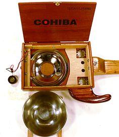 Cigar Box Guitar Resonator